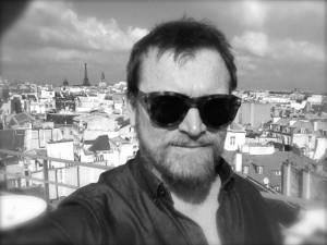 a selfie in paris